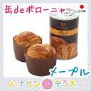 非常食 パン 缶詰 3年保存 保存食 缶deボローニャ メープル ボローニャFC本社 日本産