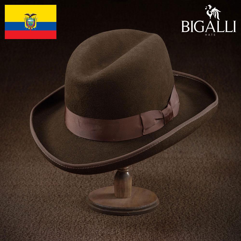 【フェルトハット(中折れハット)/BIGALLI(ビガリ)】CIMA(シーマ)≪高品質でありながらもリーズナブルなウールフェルト帽。メンズ/レディース/紳士/帽子/ハット/大きいサイズ/ギフト/あす楽≫