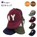 【送料無料】【Champion】N.Yキャップ 帽子 4co...