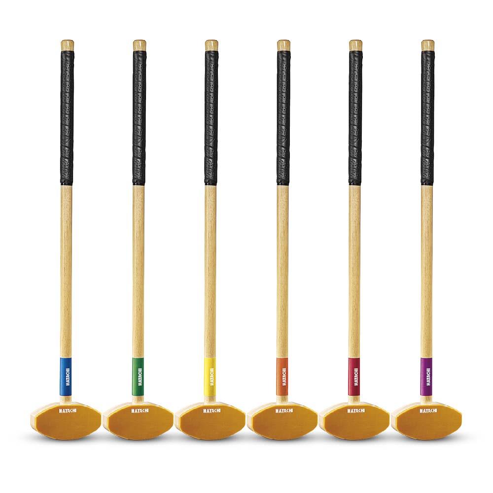 右打者、左打者両方に対応した入門グランドゴルフクラブ[グラウンドゴルフ]BH2151入門クラブ/ハタチ