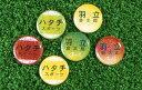 キラキラきれいなラメ入りボールマーカー名前で見分けるグランドゴルフマーカー[グラウンドゴルフ]BH6060オリジナルネームマーカー/ハタチ