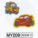 パイオニア Disneyシリーズ アップリケ 1袋2柄各1枚入 合計2枚3袋セット アイロン接着 MY550-MY209 [送料無料] Pi...