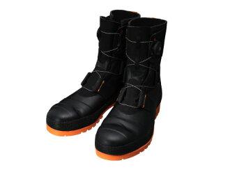 安全高筒靴橡膠靴工作高筒靴高筒靴作業用作業用高筒靴boa耐滑日本製SB3004(黑色/柳丁)CE Shibata工業