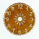 クォーツ式ドイツ鳩時計 アラビア数字文字盤変更