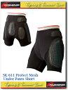 【KOMINE】【コミネ】SK-611 プロテクトメッシュアンダーパンツショート SK-611 Protect Mesh Under Pants Short【04-611】