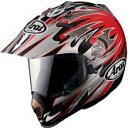 アライヘルメット TX-MOTARD VDB / 黒/赤