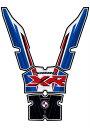 楽天スーパーセール モトグラフィックス タンクパッド BLU BLK WHT RED S1000XR 17- 《モトグラフィックス MT-TB033MSボディーパッド タンク》