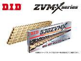 【DID】【ドライブチェーン】520ZVM-X 120L スチール【カシメジョイント】HUSQVARNA TC610 '91-'97