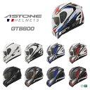 FRANCE ASTONE デザイン フルフェイスヘルメット GTB600 インナーシールド装備 おしゃれ かっこいい フランス アストン グラフィック ソリッド バイク用