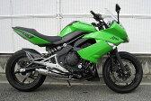 【バイク】【マフラー】【バイク用】【WRS】Ninja400/ER-4n リアエキゾースト【MCA認定】【SM4410JM】【送料無料】