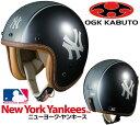 【取寄品】【ジェットヘルメット】【大リーグ】【OGK KABUTO】【オージーケーカブト】ヘルメット メジャーリーグ ニューヨーク ヤンキース ML-J1