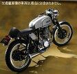 【OVER Racing】【オーバーレーシング】【マフラー】【バイク用】チタンメガホン MANXタイプ SR400/500【13-40-08】【送料無料】