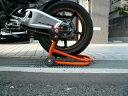 楽天バイクショップ はとや送料無料/Jスタイル/J-TRIP/ショートローラースタンド(本体) オレンジ/JT-125QR