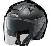 【特別価格】 ヤマハ ジェットヘルメット YJ-14 ZENITH ゼニス メタルブラック M 【インナーサンバイザー】