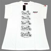NSR250 30周年記念 NSR_KV3 Tシャツ 0SYEP-W5C-WF
