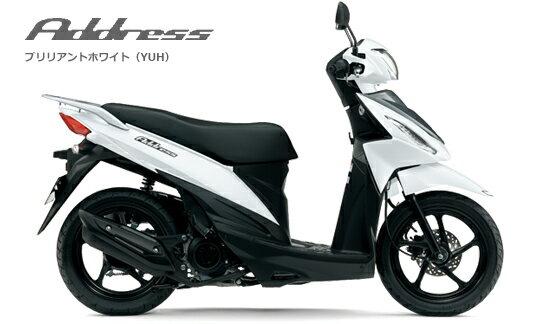 【国内向新車 スクーター 125cc】スズキ 16 アドレス110 / SUZUKI 16 Address110
