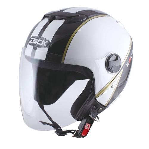 【取り寄せ品】【スピードピット】【TNK工業】【ストリート】【ヘルメット】ZR-11 フリーサイズ(58〜60CM) ホワイト/ブラック/ゴールド