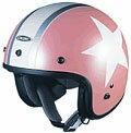【取寄品】【OGKヘルメット】【ジェットヘルメット】【OGK KABUTO】【オージーケーカブト】ヘルメット KD-mini/ピンクスター