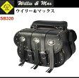 【ウイリー&マックス】【バイク用】WILLIE&MAX ウォーリアー サドルバッグ【SB320】【送料無料!】