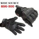 【送料無料】WIDE SOURCE スマホ対応 BSG-200 スマートライディンググローブ バイク おすすめ sum with 手袋 ワイドソース 【新生活応援】