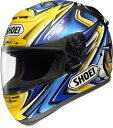 【SHOEI】X-Eleven DAIJIRO/TC-3(YELLOW/BLUE)