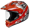 【SHOEI】HORNET PULSE/TC-1(RED/SILVER)