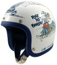 【取寄品】【ブコ】【ジェットヘルメット】【送料無料!】BUCO ヘルメット ミッキーマウス レコードブレーカー/カラーエディション