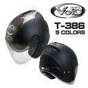 送料無料 バイク ジェットヘルメット VOID T-386 ...