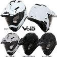 【送料無料】【VOID】オフロードヘルメット VOID(ボイド)TX-27 インナーサンシェード搭載モデル