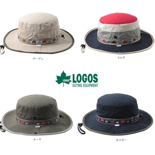 [メール便送料無料]LOGOS ツイルアドベンチャーハット Lサイズ 2WAY あご紐付き…...:hatshop:10002691