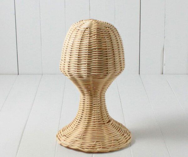 ラタン帽子スタンド[Sサイズ]籐スタンド/帽子掛け/帽子置き/