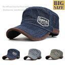 大きいサイズ ビッグサイズ XL ワークキャップ 帽子 メンズ SURPLUS 春夏 トレンド 人気
