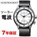 INDEPENDENT ソーラー電波時計 メンズ 腕時計 インディペンデント シチズン CITIZEN KL8-643-10