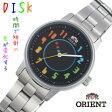 ORIENT オリエント レディース腕時計 DISK ディスク レインボー WV0061NB 【安心の正規品】 【送料無料】 【腕時計】