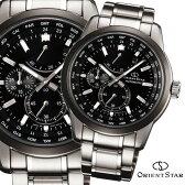オリエントスター OrientStar 自動巻 オートマチック 機械式時計 ワールドタイム パワーリザーブ メンズ腕時計 WZ0011JC 楽天スーパーSALE対象品 10P03Dec16