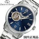 あす楽対応 オリエントスター OrientStar 自動巻 オープンハート メンズ腕時計 WZ0081DA 【安心の正規品】 【送料無料】 【腕時計】