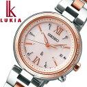 手錶 - SEIKO レディース LUKIA ソーラー電波修正 メインマスコミモデル 腕時計 セイコー ルキア SSQV014 【安心の正規品】 【送料無料】 【腕時計】 【売れ筋】