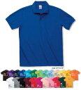 プリントスター大人から子供までT/C無地ムジポロシャツ(ポケット無)00141-NVP100cmから5Lまでの幅広いサイズ展開