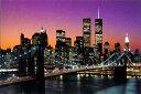 『ブルックリンブリッジ』ポスター WG-2005 インテリア おしゃれ レトロ フレーム デザイン 壁掛け 模様替え
