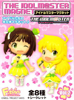 Eight kinds of F-toys THEiDOLM@STER MAGNET idol master magnet Vol.2 normal sets