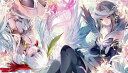 天秤を揺らす女 WIXOSS-ウィクロス- 同人 ラバープレイマット ☆『タマ&イオナ/Illust:月岡月穂』★ 【コミックマーケット89/C89】