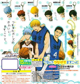 Bandai, tweaking digital EYE Kuroko's basketball mascot swing ver... into 4 species assortment set