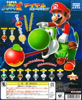 Set of 10 Super Mario Galaxy 2 ItemCollection all takaratomy arts
