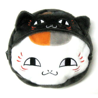 Natsume friends book nyanko-Sensei plush pouch