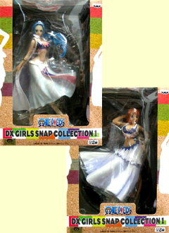 ONE PIECE-one piece - DX GIRLS SNAP COLLECTION 1 set of 2