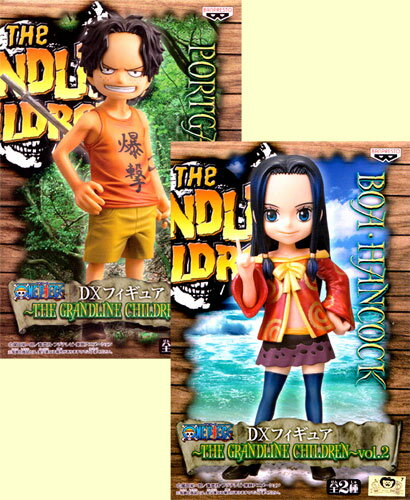 ONE PIECE-one piece - DX PVC figure-THE GRANDLINE CHILDREN ~ set of 2 vol.2