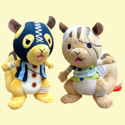 All two kinds of No. 013 ONE PIECE- one piece - Recommembers one piece squirrel key brothers sets