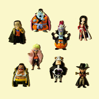 All eight kinds of ONE PIECE- one piece - world collector bulldog figure skating vol.4 sets