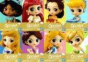 Disney Characters Q posket petit Girls Festival vol.2 全8種セット ディズニー バンプレスト