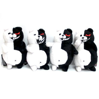 Dangan and desperate high school students THE ANIMATION monokuma plush set of 4